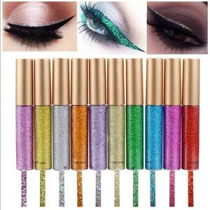 10 Piece Glitter Eyeliner Set ✨✨✨✨✨